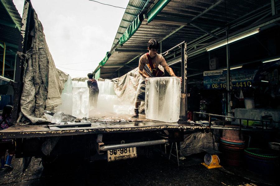 Eislieferung Fresh Market
